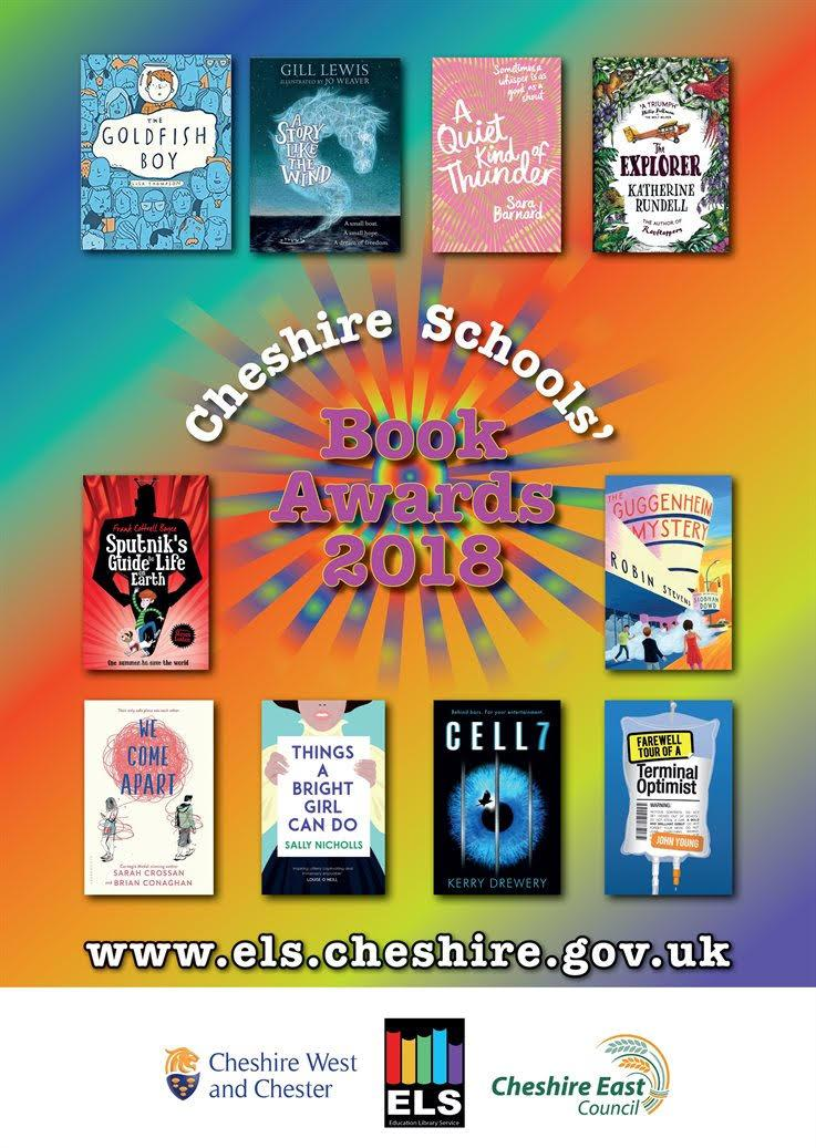 Cheshire Schools Book Awards 2018
